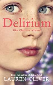 Delirium Lauren Oliver UK Cover