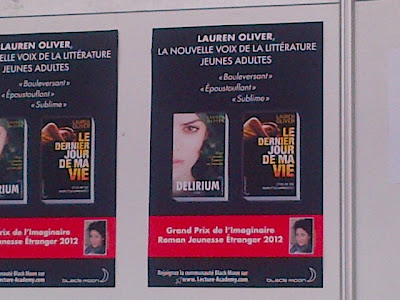 Le Grand Prix de L'Imaginaire Delirium Before I Fall Lauren Oliver