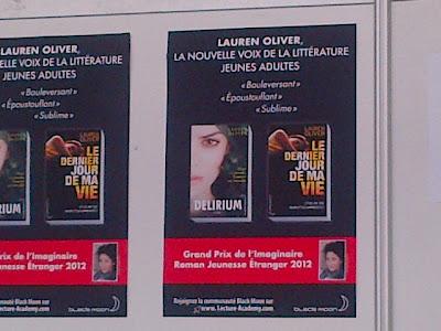 Le Grand Prix de L'Imaginaire Delirium Before I Fall Lauren Oliver