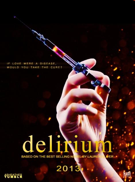 Delirium Movie Poster Fan Art