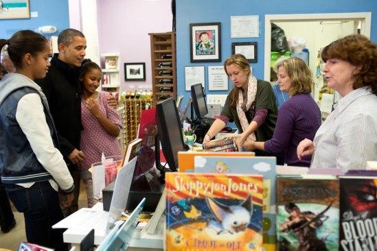Barack Obama Sasha Malia books Delirium Pandemonium